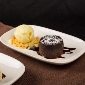 Molten Diners Dessert Menu Chocolate Lava Fondant