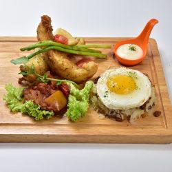 Molten Diners Molten Rice Menu Crispy Fish Fillet