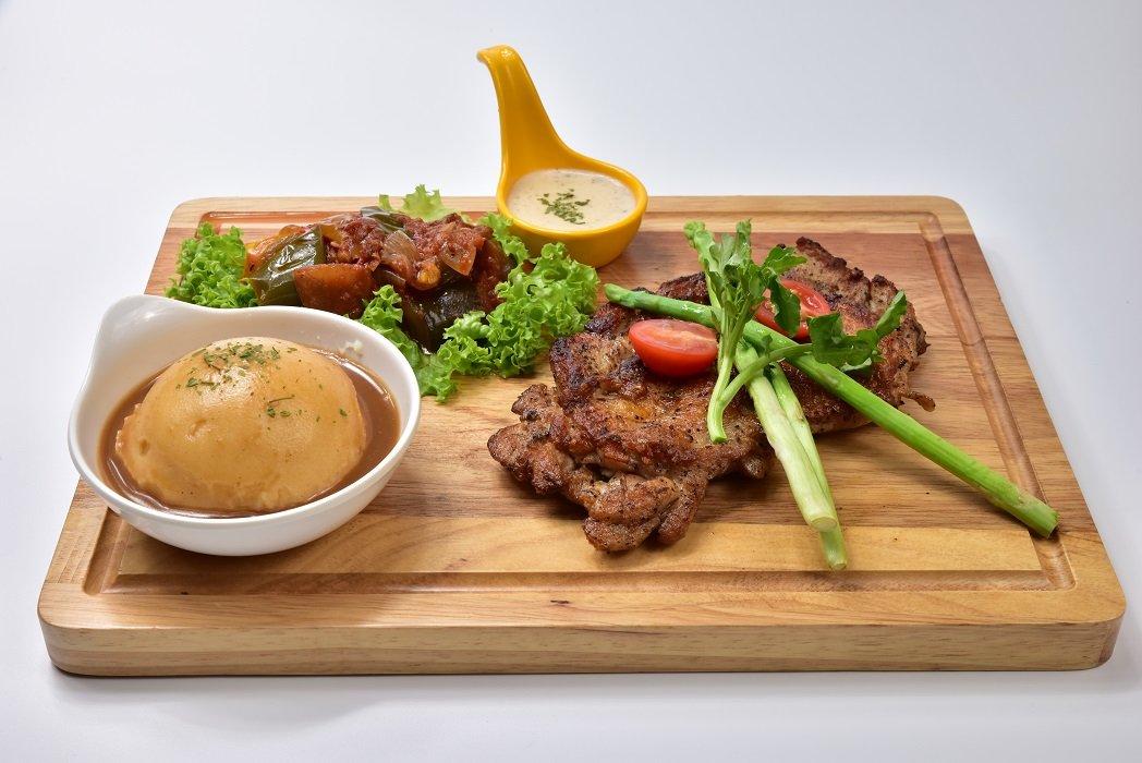 Molten Diners Chicken Menu Background
