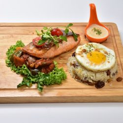 Molten Diners Molten Rice Menu Salmon Fillet