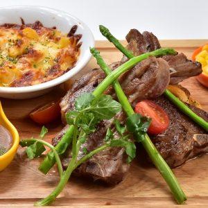 Molten Diners Lamb Menu AUS Lamb Chop