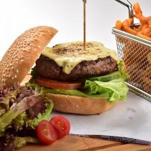 Molten Diners Buger Menu Classic Wagyu Beef Burger