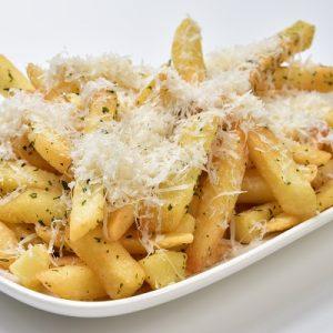 Molten Diners Appetizer Menu Parmesan Cheese Fries