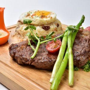 Molten Diners Molten Rice Menu Sirloin Beef