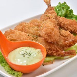 Molten Diners Appetizer Menu Wasabi Shrimps