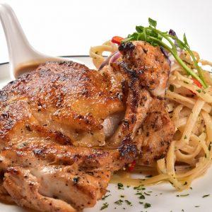 Molten Diners Menu Chicken Chop Aglio Olio