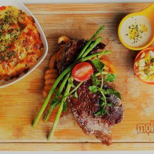 Molten Diners Beef Menu Striploin Beef